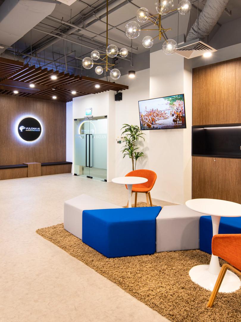 Minimalist Office Interior Design Singapore
