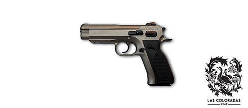 Pistola Semiautomatica TANFOGLIO Combat p-19 NIQUELADA