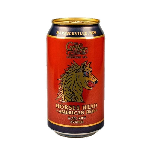 Grifter Horses Head American Red  Cans 375mL 5.5%