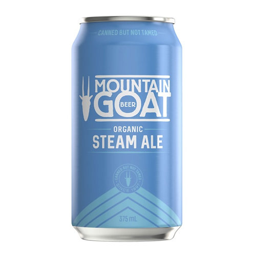 Mountain Goat Steam Ale Cans 375mL 4.5%