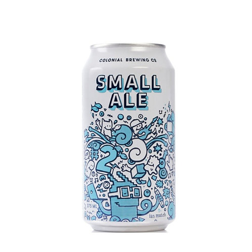 Colonial Brewing Co. Small Ale Cans 375mL 3.5%