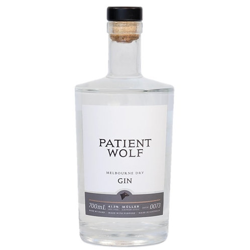 Patient Wolf Dry Gin 700mL