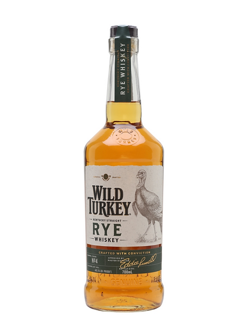 Wild Turkey Kentucky Straight Rye Whiskey 700mL