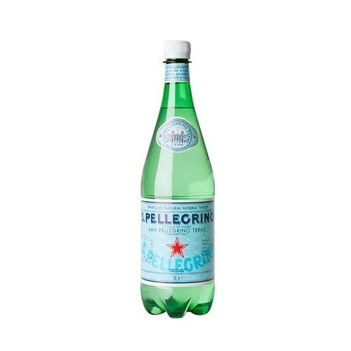 S. Pellegrino Sparkling Natural Mineral Water Glass Bottles 750mL