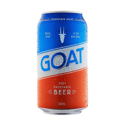 Mountain Goat Very Enjoyable Beer Cans 375mL