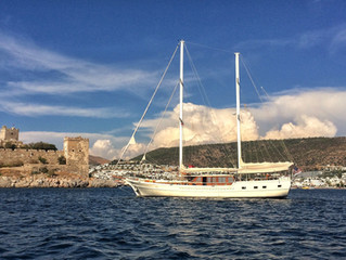 Gulet charters in Greece and the Greek islands, Intro, Warren East