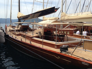 East yachts attend the Marmaris Boat show, Turkey
