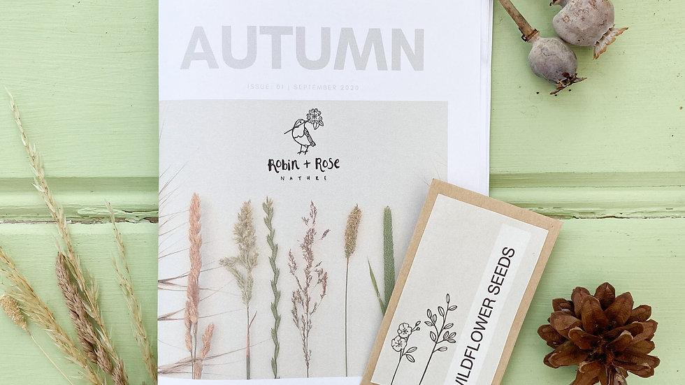 Autumn Magazine & Seeds