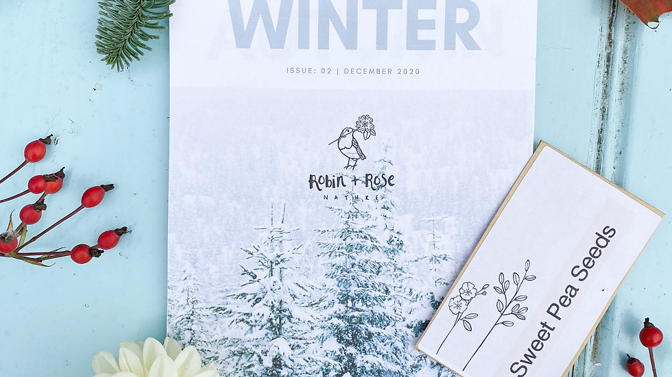 Winter Magazine and Seeds