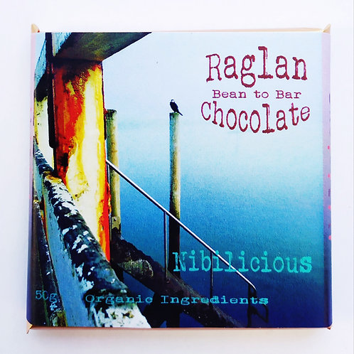 Nibilicious (caramel with cacao nibs). 50g