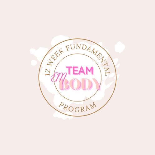 12 Week Fundamental Program
