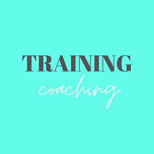 Online  Coaching - Training Only