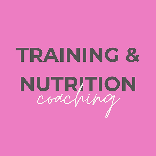6 Months Upfront Online Training & Nutrition Coaching