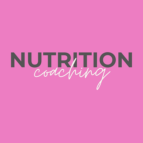 Online Coaching - Nutrition Only