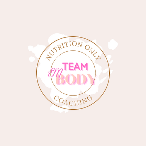 Nutrition Only Coaching