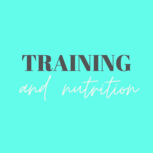 Online Training & Nutrition Coaching