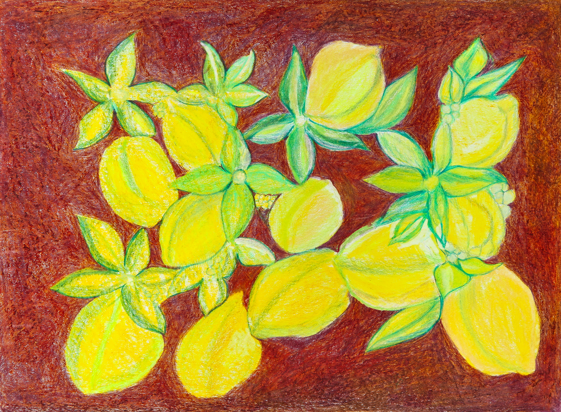 Scattered Lemons by Paulette Lagana