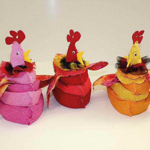 Ei- Huhn - Materialpackungen