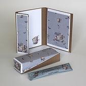 Einladungskarte und Teebox