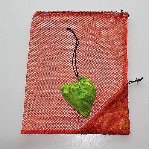 Einkaufsnetzli-Herz - Materialpackung