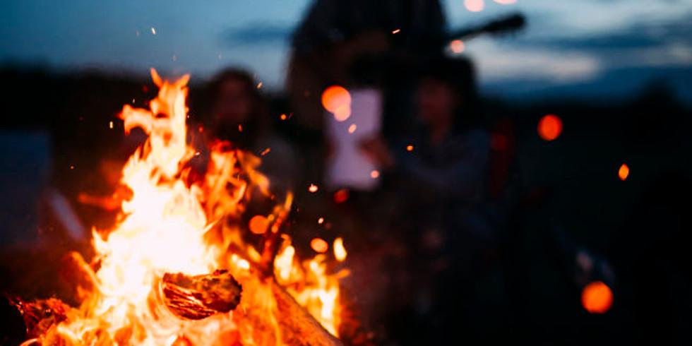 Bonfire at Ocean Beach SF