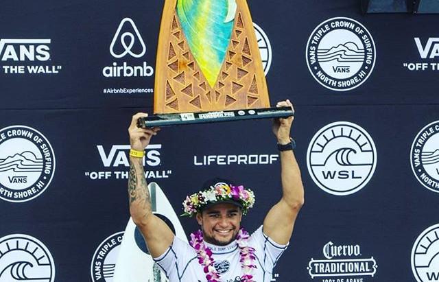Deivid Silva Disputará a Elite do Surf Mundial em 2019