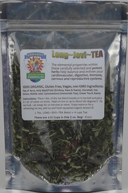 Long-Jevi-Tea 11 Herb Blend (3 Oz. 140 cups)