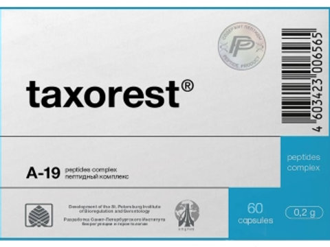 Lung Peptide Taxorest® 60 Capsules