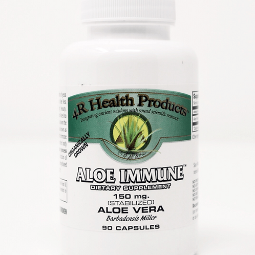 Aloe Immune 150 mg 90 Count in Veggie Capsules