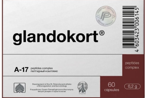 Adrenal Peptide Glandokort® 60 Capsules