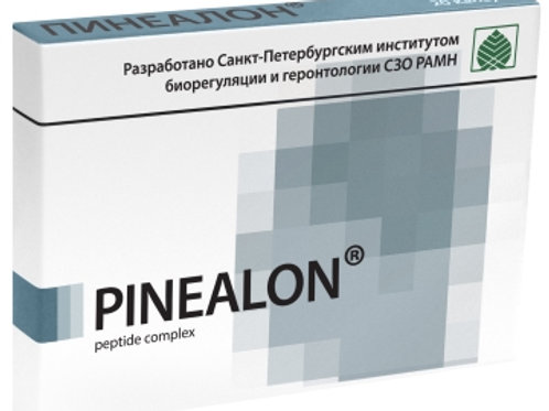 Brain Synthesized Peptide Pinealon 20 Capsules