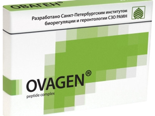 Liver Synthesized Peptide Ovagen 20 Capsules