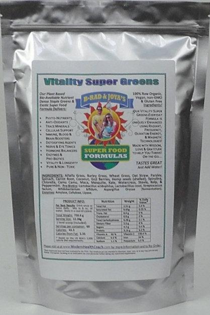 Vitality Super Greens Large (720g, 60 Servings)