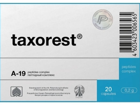Lung Peptide Taxorest® 20 Capsules