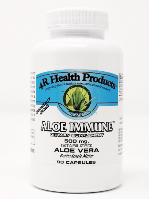 Aloe Immune 250 mg 90 Count in Veggie Capsules