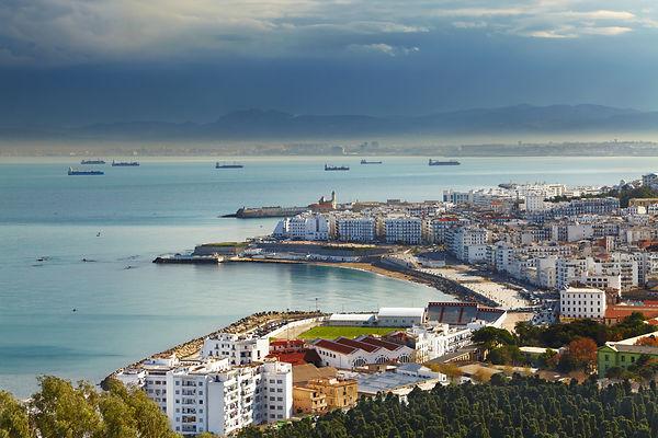 Algiers the capital city of Algeria, Nor