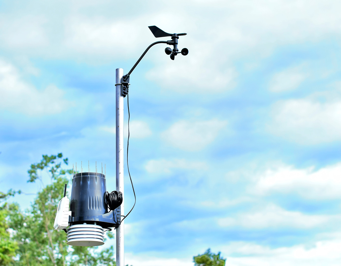 Personal Meteorological weather station.