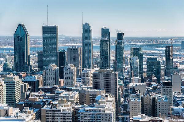 Montreal Skyline from Kondiaronk Belvede