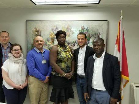 Visite de l'ambassade du Canada en Cote d'ivoire