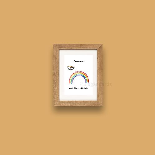 sambar over the rainbow