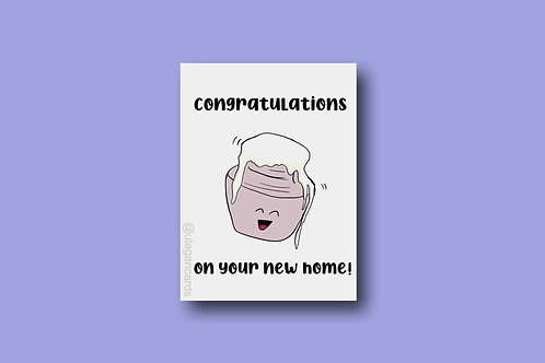Congratulations on your new home!