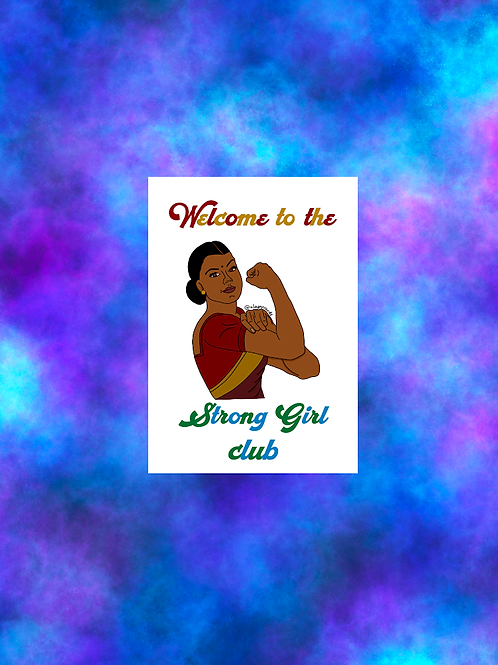 Welcome to the strong girls club