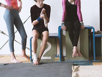 Girls at a Gym