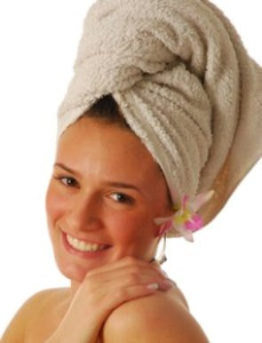 Saunas and dry hair after using on natural and hair extensions