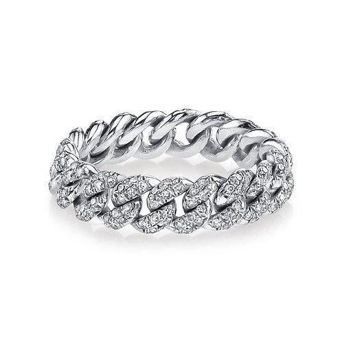 Cuban Silver Ring