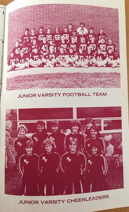 JV team 1986