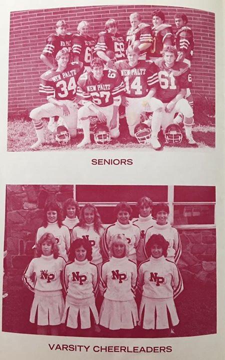 Varsity seniors 1986
