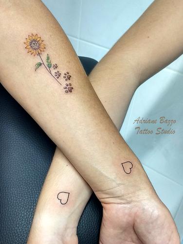 Tatuagens femininas delicadas no braço g