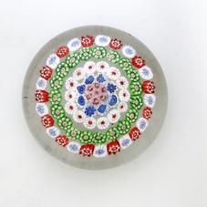 Antique Baccarat Four Rour Concentric