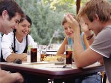 A Cafeteria Conversation